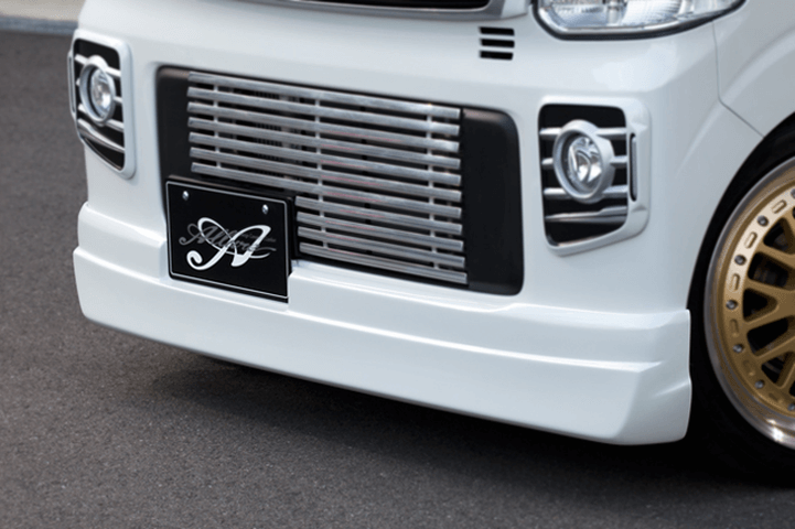 DA17W エブリイ ワゴン 外装 エアロパーツ フロントリップスポイラー NANKAI AUTO FRONT HALF SPOILER
