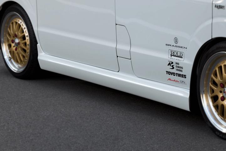 DA17W エブリイ ワゴン 外装 エアロパーツ サイドステップ NANKAI AUTO SIDE STEP