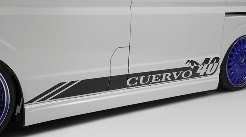 DA17W エブリイ ワゴン 外装 エアロパーツ サイドステップ FLEDERMAUS(フレーダーマウス) サイドスポイラー