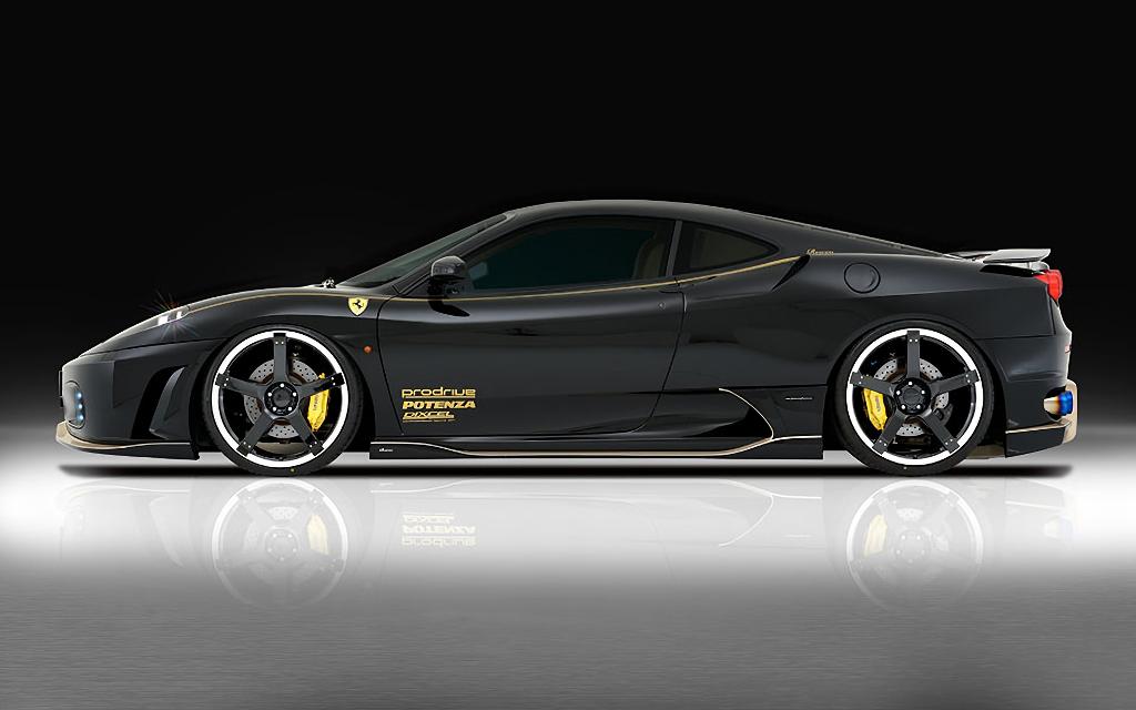 Ferrari F430 外装 エアロパーツ サイドステップ ROWEN(ロェン) サイドステップ(FRP/FRP+Carbon)