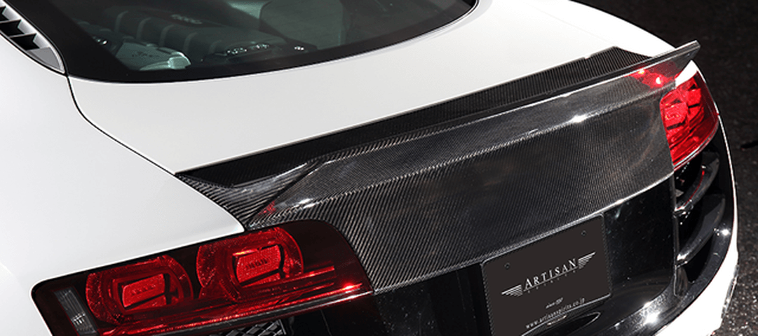 Audi R8 v10 外装 エアロパーツ リアスポイラー/ウイング ARTISAN SPIRITS REAR WING