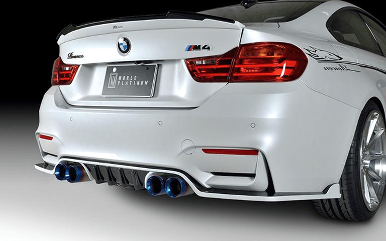 BMW M4 F82 外装 エアロパーツ リアスポイラー/ウイング ROWEN(ロェン) PLATINUMトランクスポイラー