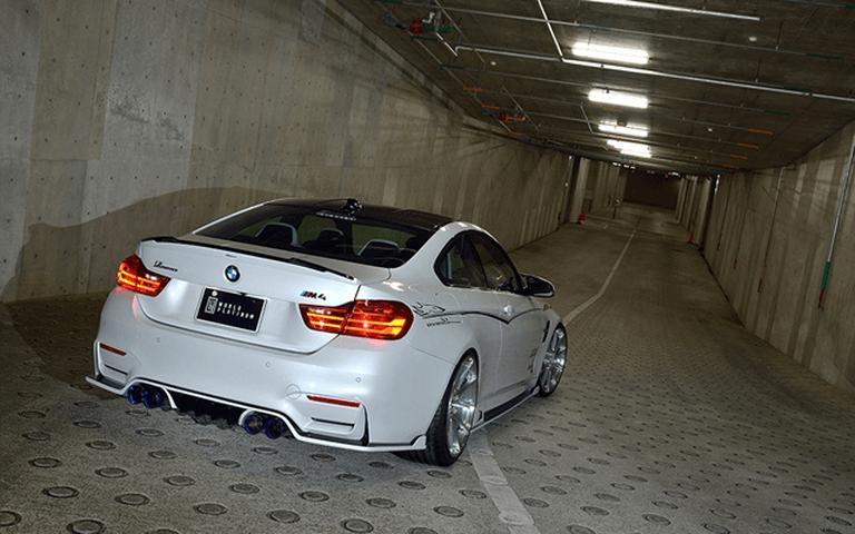 BMW M4 F82 外装 エンブレム・デカール・バイナル エンブレム・デカール・バイナル本体 ROWEN(ロェン) PLATINUMピンストライプ