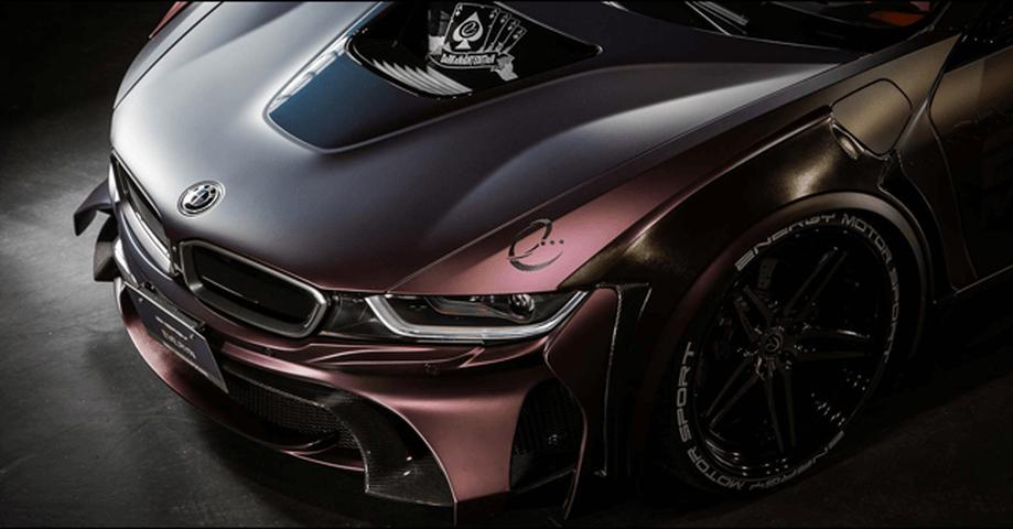 BMW i8 外装 エアロパーツ フロントバンパー ENERGY MOTOR SPORT フロントバンパーキット