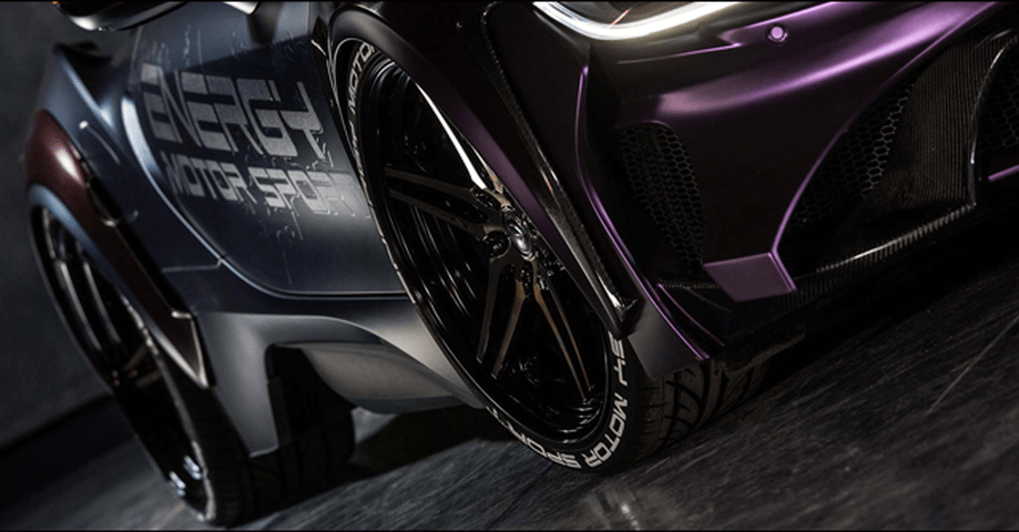 BMW i8 外装 エアロパーツ フェンダー ENERGY MOTOR SPORT ダクト付きオーバーフェンダー カーボンエディション