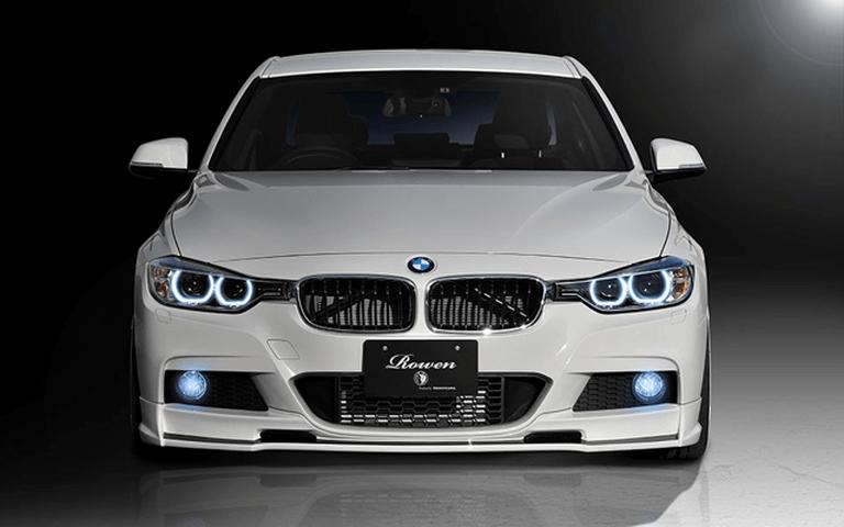 BMW 3 Series F30/F31/F34 外装 エアロパーツ フロントリップスポイラー ROWEN(ロェン) フロントスポイラー