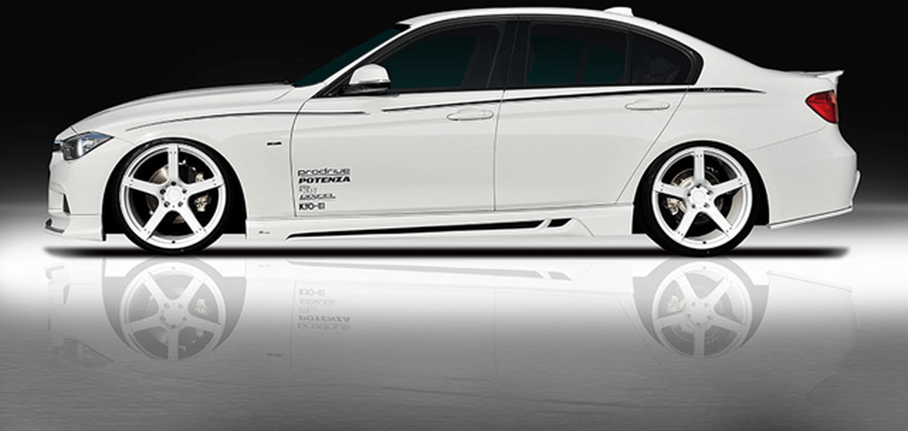 BMW 3 Series F30/F31/F34 外装 エアロパーツ サイドステップ ROWEN(ロェン) サイドステップ