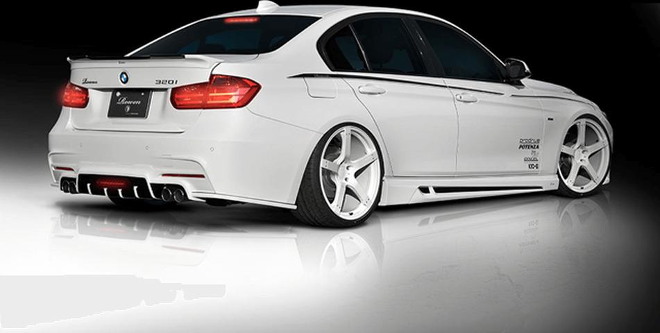 BMW 3 Series F30/F31/F34 外装 エアロパーツ リアスポイラー/ウイング ROWEN(ロェン) トランクスポイラー