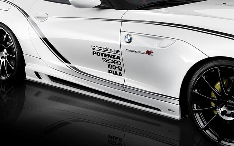 BMW Z4 E89 外装 エアロパーツ サイドステップ ROWEN(ロェン) サイドカーボンアンダーフラップ