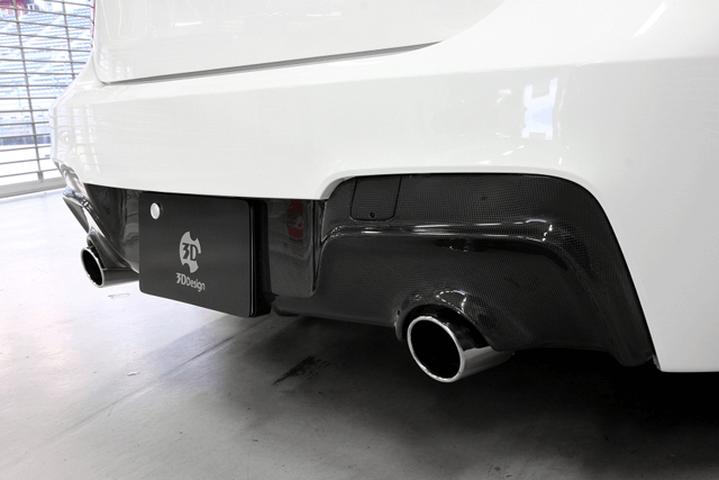 BMW 1 Series F20 外装 エアロパーツ リアディフューザー 3D Design リアディフューザー【デュアル】