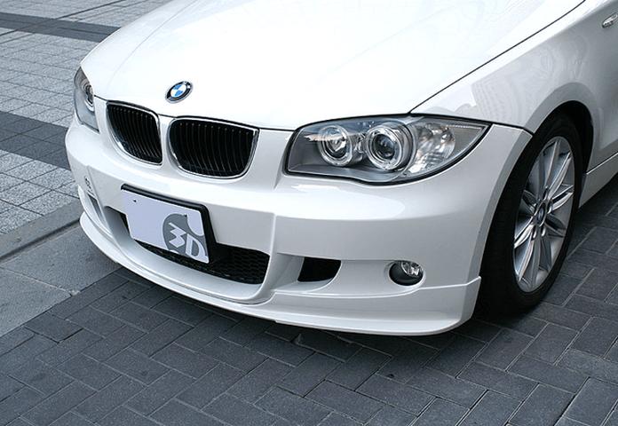 BMW 1 Series E87 外装 エアロパーツ フロントリップスポイラー 3D Design フロントリップスポイラー