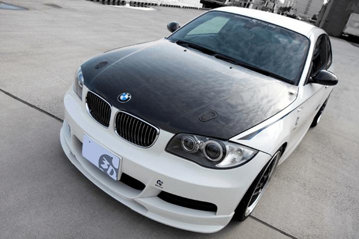 BMW 1 Series E87 外装 エアロパーツ ボンネット 3D Design カーボンフード