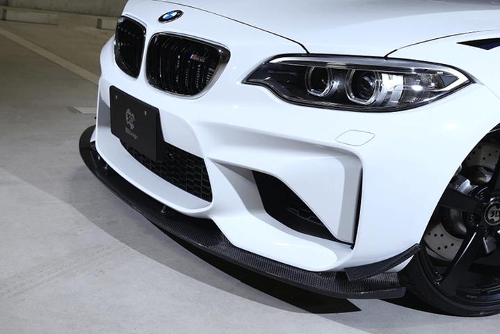 BMW M2 F87 外装 エアロパーツ フロントリップスポイラー 3D Design フロントリップスポイラー 単品