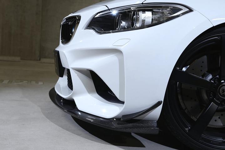 BMW M2 F87 外装 エアロパーツ カナード 3D Design カナード 単品