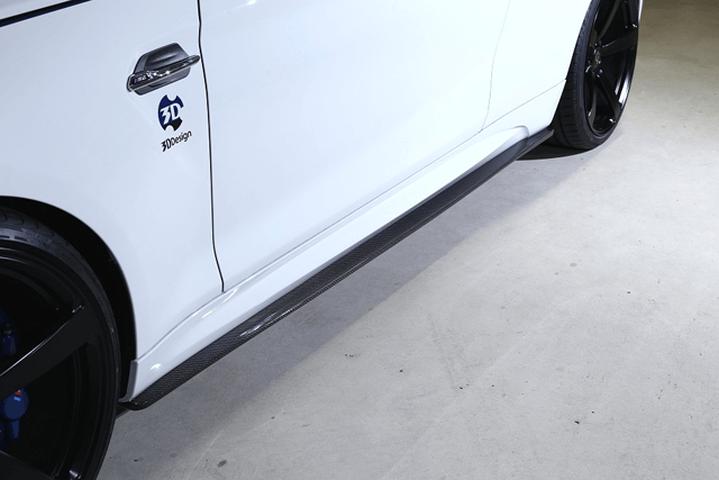 BMW M2 F87 外装 エアロパーツ サイドステップ 3D Design サイドスカート