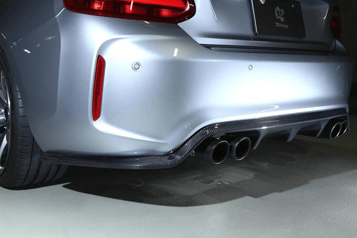 BMW M2 F87 外装 エアロパーツ リアディフューザー 3D Design リアディフューザーType2