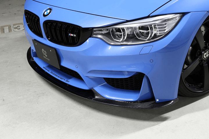 BMW M3 F80 外装 エアロパーツ フロントリップスポイラー 3D Design フロントリップスポイラー