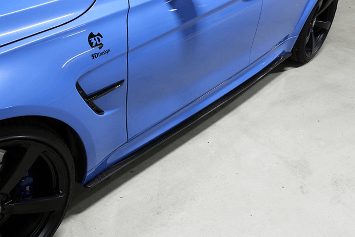 BMW M3 F80 外装 エアロパーツ サイドステップ 3D Design サイドスカート