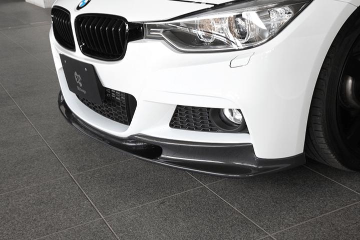 BMW 3 Series F30/F31/F34 外装 エアロパーツ フロントリップスポイラー 3D Design フロントリップスポイラー(カーボン)