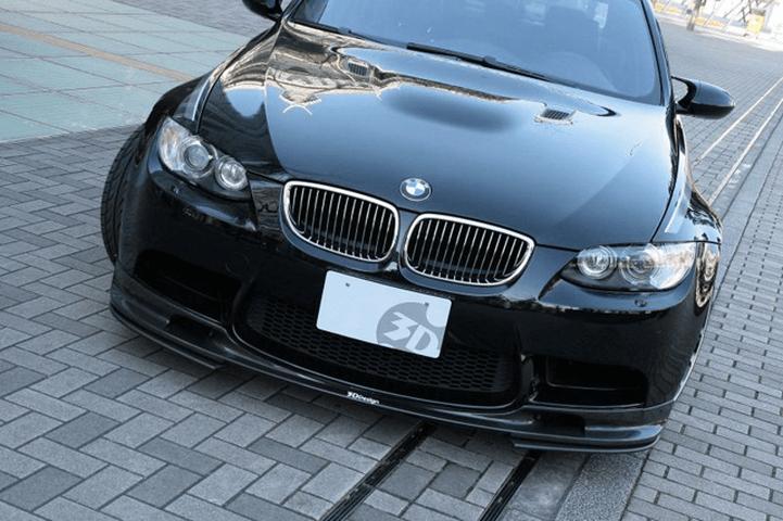 BMW 3 Series E90 外装 エアロパーツ フロントリップスポイラー 3D Design フロントリップスポイラーセット