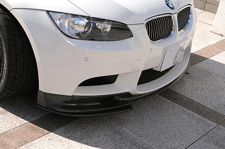 BMW 3 Series Coupe E92 外装 エアロパーツ フロントリップスポイラー 3D Design フロントリップスポイラー