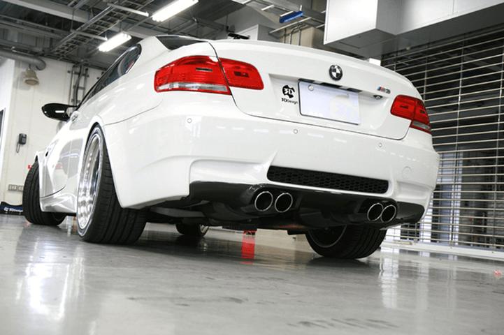 BMW 3 Series Coupe E92 外装 エアロパーツ リアディフューザー 3D Design リアディフューザー