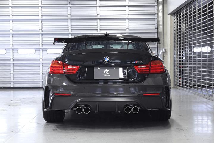 BMW M4 F82 外装 エアロパーツ リアバンパー 3D Design リアバンパースポイラー