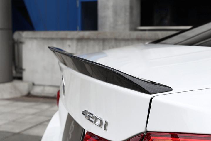 BMW 4 Series F32/F33 外装 エアロパーツ リアスポイラー/ウイング 3D Design トランクスポイラー