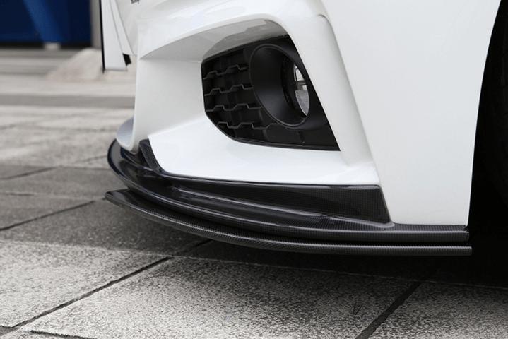 BMW 4 Series F36 外装 エアロパーツ その他 3D Design アンダーフリッパー(カーボン)