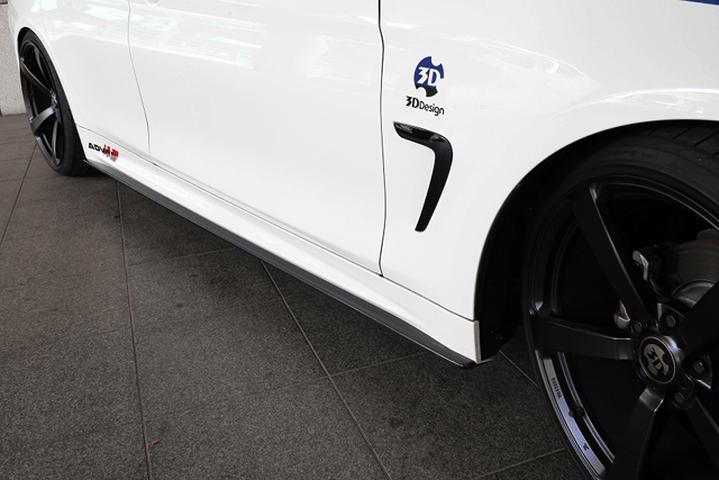 BMW 4 Series F36 外装 エアロパーツ サイドステップ 3D Design サイドスカート
