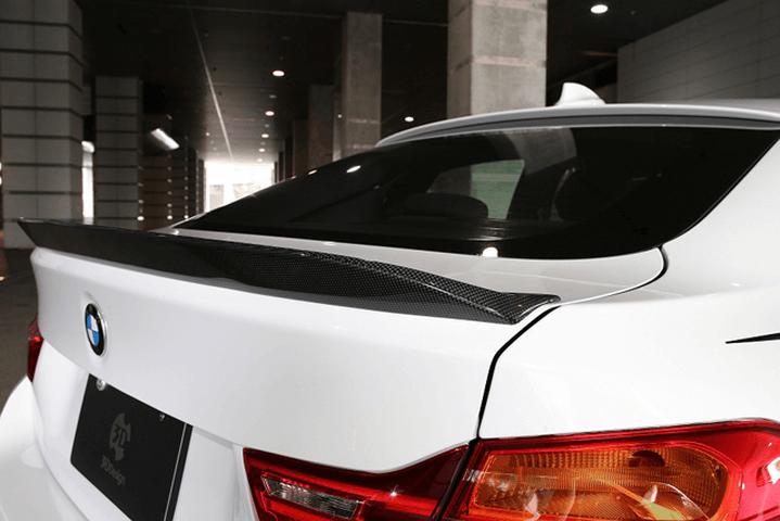 BMW 4 Series F36 外装 エアロパーツ リアスポイラー/ウイング 3D Design トランクスポイラー(カーボン)