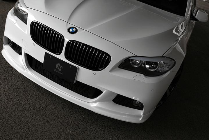 BMW 5 series F10/F11 外装 エアロパーツ フロントリップスポイラー 3D Design フロントリップスポイラー