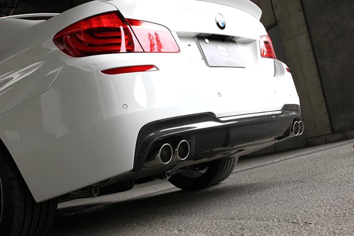 BMW 5 series F10/F11 外装 エアロパーツ リアディフューザー 3D Design リアディフューザー(4テール)