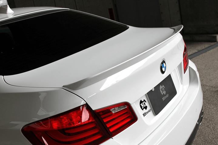 BMW 5 series F10/F11 外装 エアロパーツ リアスポイラー/ウイング 3D Design トランクスポイラー