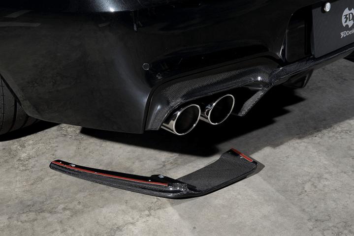 BMW M6 F12/F13 外装 エアロパーツ その他 3D Design リアアンダーフリッパー(単品)