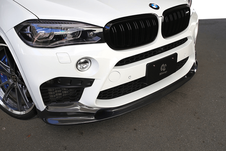 BMW F85 X5M 外装 エアロパーツ フロントリップスポイラー 3D Design フロントリップスポイラー