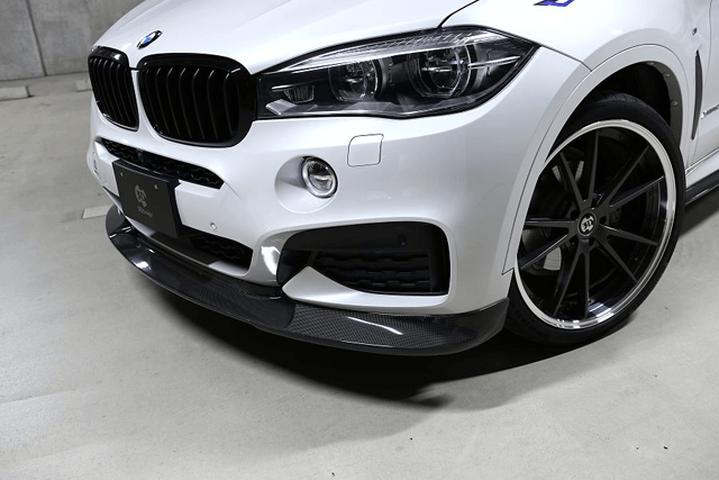BMW X6 F16 外装 エアロパーツ フロントリップスポイラー 3D Design フロントリップスポイラー