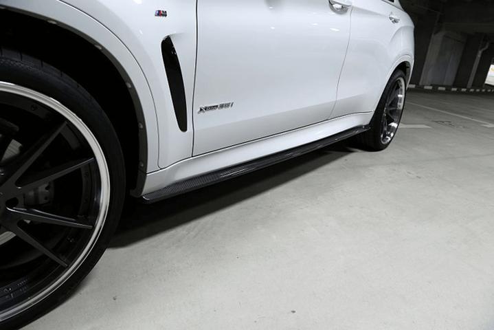 BMW X6 F16 外装 エアロパーツ サイドステップ 3D Design サイドスカート
