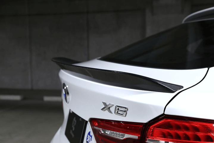 BMW X6 F16 外装 エアロパーツ リアスポイラー/ウイング 3D Design トランクスポイラー
