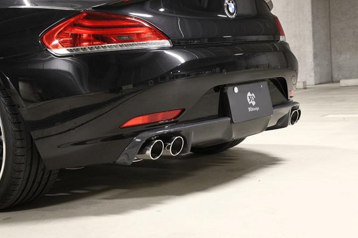 BMW Z4 E89 外装 エアロパーツ リアディフューザー 3D Design リアディフューザー(4テール)