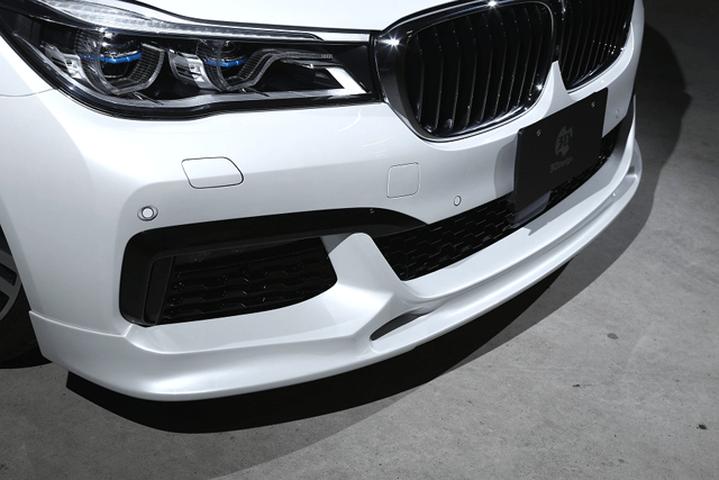 BMW 7 Series G11 外装 エアロパーツ フロントリップスポイラー 3D Design フロントリップスポイラー