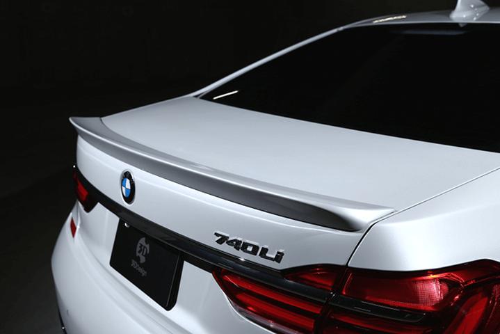 BMW 7 Series G11 外装 エアロパーツ リアスポイラー/ウイング 3D Design トランクスポイラー