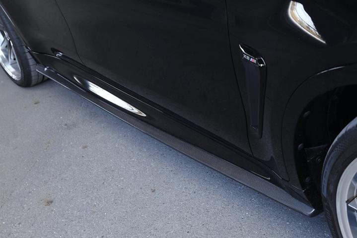 BMW X6 F86 外装 エアロパーツ サイドステップ 3D Design サイドスカート