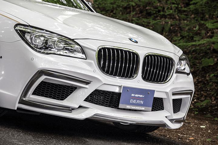 BMW 7 Series F01/F02 外装 エアロパーツ フロントバンパー ENERGY MOTOR SPORT フロントバンパーキット (フロントバンパー/クロームメッキカバー/ダクトネット)