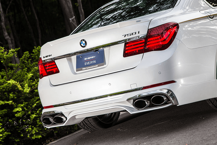 BMW 7 Series F01/F02 外装 エアロパーツ リアアンダースポイラー ENERGY MOTOR SPORT リアアンダースポイラーキット(リアアンダースポイラー/クロームメッキカバー) ※前期 or 後期を選択