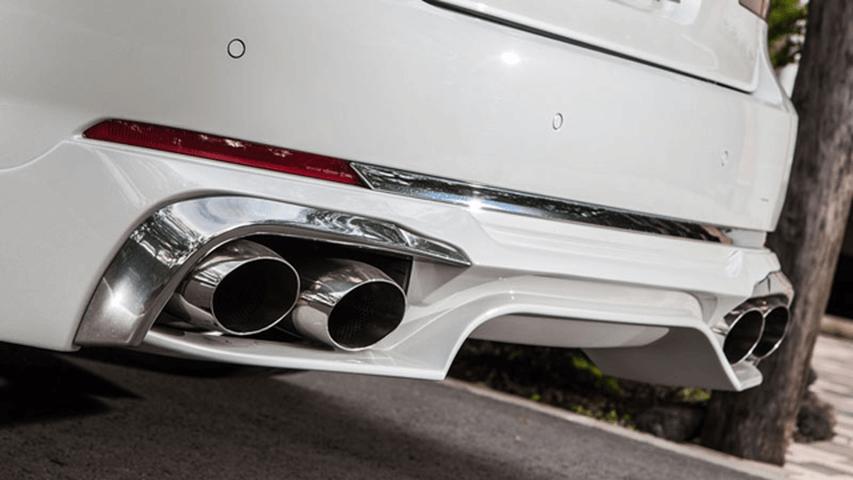 BMW 7 Series F01/F02 排気系 マフラーカッター マフラーカッター本体 ENERGY MOTOR SPORT エナジーMSステンレスマフラーカッター(F01/02)