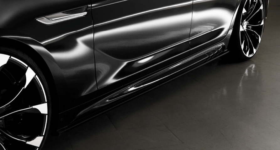 BMW 6 Series F06 外装 エアロパーツ サイドステップ WALD SIDE STEP