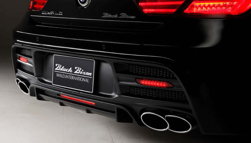 BMW 6 Series F06 外装 エアロパーツ リアバンパー WALD REAR BUMPER SPOILER