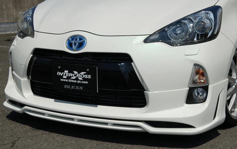 NHP10 アクア 外装 エアロパーツ フロントリップスポイラー BLESS CREATION Front Half Spoiler