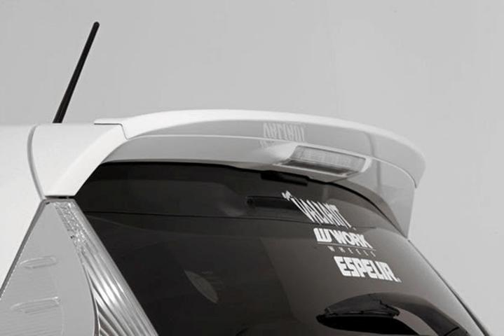 NHP10 アクア 外装 エアロパーツ リアスポイラー/ウイング ガレージベリー リアルーフリップ